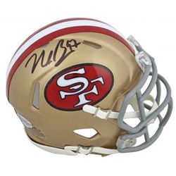 Nick Bosa Signed 49ers Speed Mini Helmet (Beckett COA)