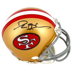 Deion Sanders Signed 49ers Mini Helmet (Beckett COA)