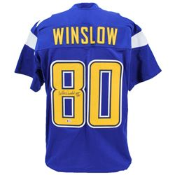 "Kellen Winslow Signed Jersey Inscribed ""HOF 95"" (Beckett COA)"