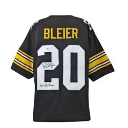 "Rocky Bleier Signed Jersey Inscribed ""4x SB Champs"" (Beckett COA)"