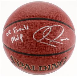 "Paul Pierce Signed NBA Basketball Inscribed ""08 Finals MVP"" (Beckett COA)"