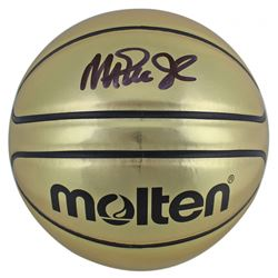 Magic Johnson Signed Molten Basketball (Beckett COA)