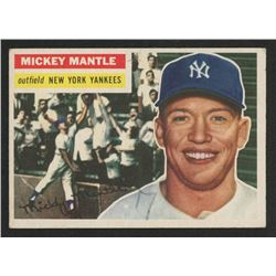 Mickey Mantle 1956 Topps #135