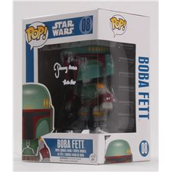 "Jeremy Bulloch Signed ""Star Wars"" Boba Fett #08 Funko Pop! Vinyl Figure Inscribed ""Boba Fett"" (Becke"