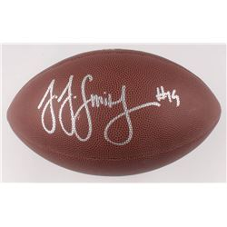 JuJu Smith-Schuster Signed NFL Football (Beckett COA)