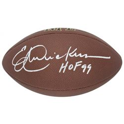 "Eric Dickerson Signed NFL Football Inscribed ""HOF 99"" (Beckett COA)"