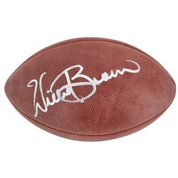 Willie Brown Signed Official NFL Game Ball (Beckett COA)