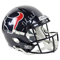 Deshaun Watson Signed Texans Full-Size Speed Helmet (Beckett COA)