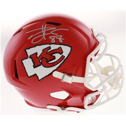 Travis Kelce Signed Chiefs Full-Size Speed Helmet (Beckett COA)