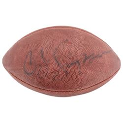 O. J. Simpson Signed Official NFL Game Ball (Beckett COA)