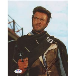 "Clint Eastwood Signed ""A Fistful of Dollars"" 8x10 Photo (PSA Hologram)"