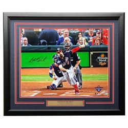 Anthony Rendon Signed Nationals 22x27 Custom Framed Photo Display (Fanatics Hologram  MLB Hologram)