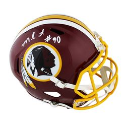Montez Sweat Signed Redskins Full-Size Speed Helmet (Radtke COA)