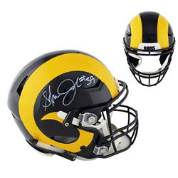 Steven Jackson Signed Rams Full-Size Authentic On-Field SpeedFlex Helmet (Radtke COA)