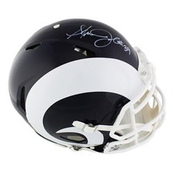 Steven Jackson Signed Rams Full-Size Authentic On-Field Speed Helmet (Radtke COA)
