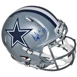 Dak Prescott Signed Cowboys Full-Size Authentic On-Field Speed Helmet (JSA COA)
