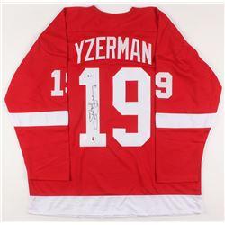 Steve Yzerman Signed Jersey (Beckett COA  Yzerman Hologram)