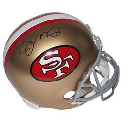 Joe Montana Signed 49ers Full-Size Helmet (Beckett COA)