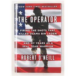 "Robert O'Neill Signed ""The Operator"" Hardcover Book (Beckett COA)"