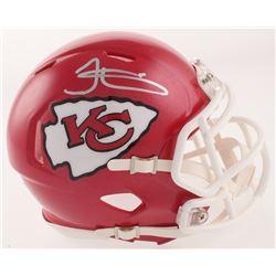 Tyreek Hill Signed Chiefs Speed Mini Helmet (JSA COA)