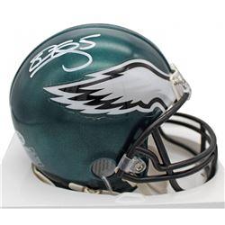 Donovan McNabb Signed Eagles Mini Helmet (Beckett COA)