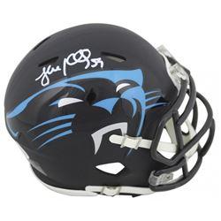 Luke Kuechly Signed Panthers AMP Alternate Speed Mini Helmet (Beckett COA)