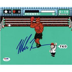 """Mike Tyson Signed """"Punch-Out!!"""" 8x10 Photo (PSA COA)"""