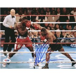 Mike Tyson Signed 8x10 Photo (PSA COA)