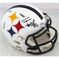 T.J. Watt Signed Steelers AMP Alternate Speed Mini Helmet (Beckett COA)