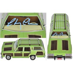 """Chevy Chase Signed """"National Lampoon's Vacation"""" 1:18 Scale Family Truckster Die-Cast Car (Beckett C"""