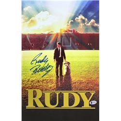 "Rudy Ruettiger Signed ""Rudy"" 11x17 Photo (Beckett COA)"