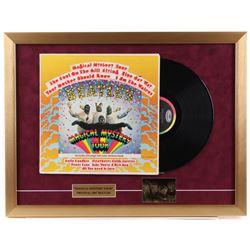 "The Beatles ""Magical Mystery Tour"" 19x25 Custom Framed Vinyl Record Display"