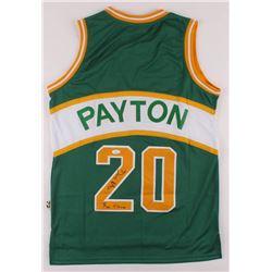 "Gary Payton Signed SuperSonics Jersey Inscribed ""The Glove"" (JSA COA)"