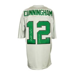 """Randall Cunningham Signed Eagles Mitchell  Ness Throwback Jersey Inscribed """"Ultimate Weapon"""" (Sports"""