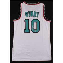 Mike Bibby Signed Grizzlies Jersey (JSA COA)