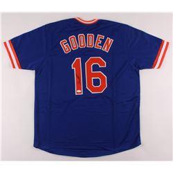 Dwight Gooden Signed Jersey (JSA COA)