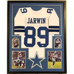Blake Jarwin Signed 34x42 Custom Framed Jersey (JSA COA)