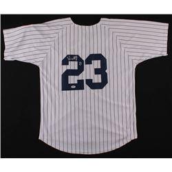 Don Mattingly Signed Yankees Jersey (PSA COA)