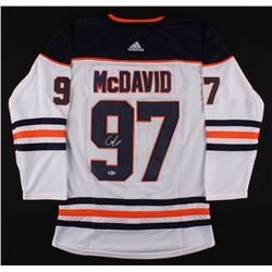 Connor McDavid Signed Oilers Captain Jersey (Beckett COA)