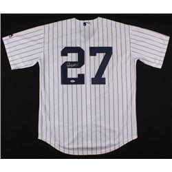 Giancarlo Stanton Signed Yankees Jersey (PSA Hologram)