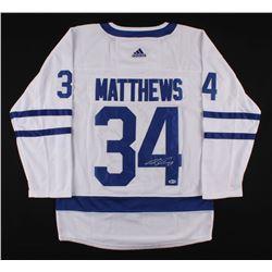 Auston Matthews Signed Maple Leafs Jersey (Beckett COA)