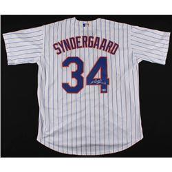 "Noah Syndergaard Signed Mets Jersey Inscribed ""Thor"" (Beckett COA)"