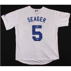Corey Seager Signed Dodgers Jersey (Beckett COA)