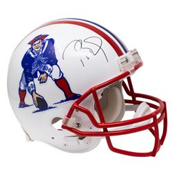 Tom Brady Signed Patriots Full-Size Authentic On-Field Throwback Helmet (TriStar Hologram)