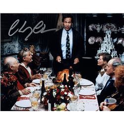 "Chevy Chase Signed ""National Lampoon's Christmas Vacation"" 8x10 Photo (Beckett COA)"
