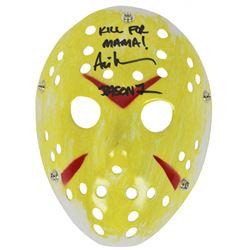 """Ari Lehman Signed """"Friday the 13th"""" Mask Inscribed """"Kill For Mama!""""  """"Jason 1"""" (Beckett COA)"""