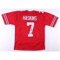 Dwayne Haskins Signed Jersey (JSA COA)