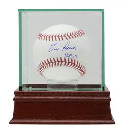 "Tim Raines Signed OML Baseball Inscribed ""HOF 17"" with Display Case (JSA COA)"