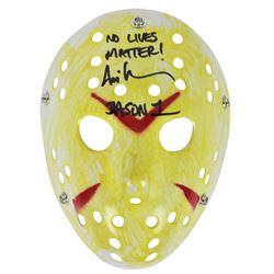 "Ari Lehman Signed ""Friday the 13th"" Mask Inscribed ""No Lives Matter!""  ""Jason 1"" (Beckett COA)"