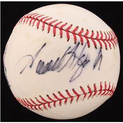 Samuel L. Jackson Signed OML Baseball (PSA Hologram)